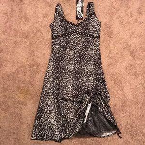 Leopard print dress, Vixxsin size S